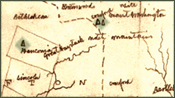 Thoreau's map of the Concord and Merrimack Rivers