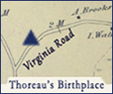 Thoreau's birthplace in Concord