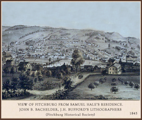 Fitchburg, Massachusetts 1845