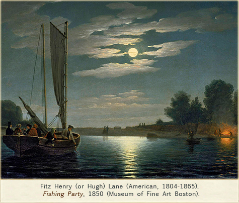 Fitz Henry Lane, Fishing Party, 1850