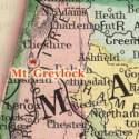 Mount Greylock map