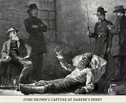 John Brown's capture, 1859
