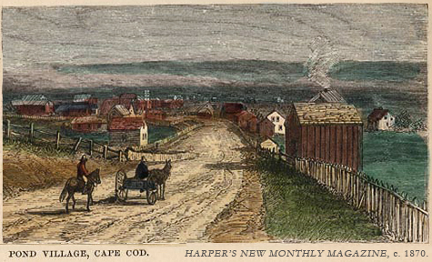Cape Cod, Harper's New Monthly, c. 1870