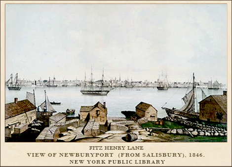 Fitz Henry Lane, Newburyport (1846)