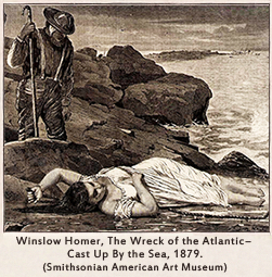 Winslow Homer, Wreck of the Atlantic, Cast Up by the Sea