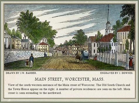 J.W. Barber, Worcester, 1839.