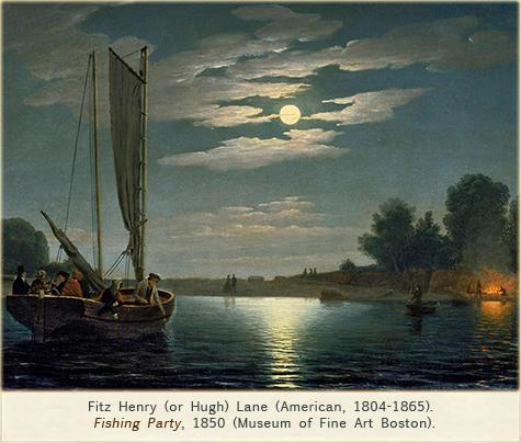 Fitz Henry Lane, Fishing Party, 1850