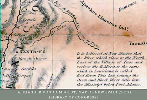 Humbolt's map of New Spain