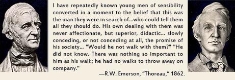 "Emerson, ""Thoreau,"" 1862"